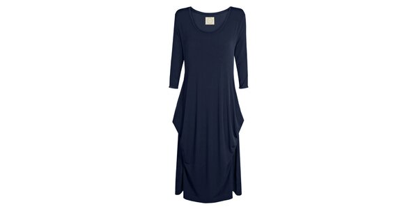 Dámske tmavo modré šaty Isabi