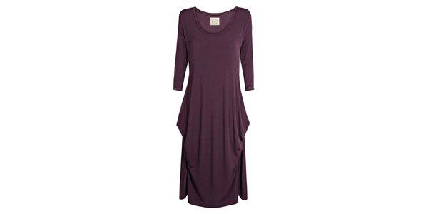 Dámske fialové šaty Isabi