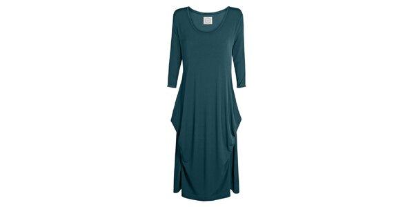Dámske modrozelené šaty Isabi