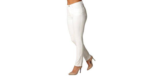 Dámske biele nohavice Isabi