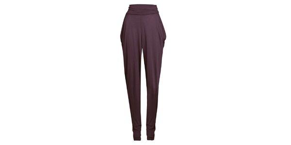 Dámske fialové háremové nohavice Isabi