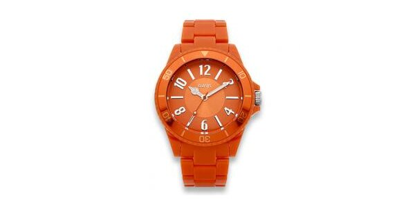 Dámske oranžové hodinky Oasis