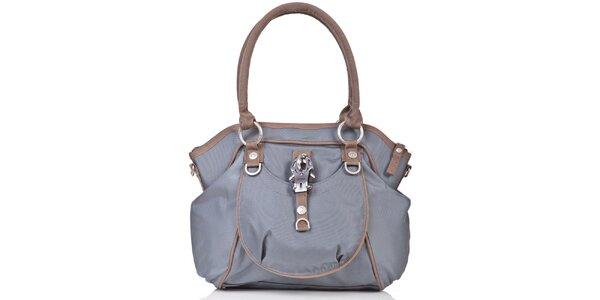 Dámska modro-hnedá kabelka George Gina and Lucy