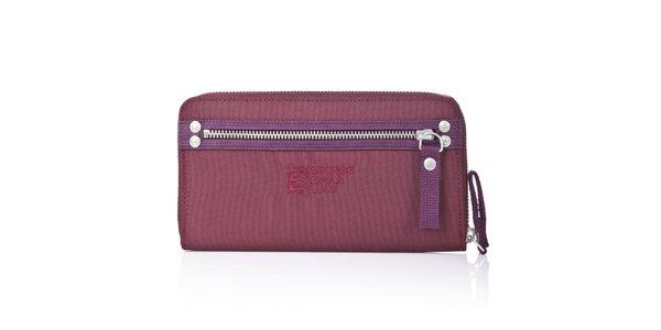 Dámska fialovo-vínová peňaženka George Gina and Lucy