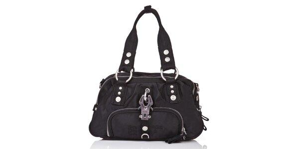Dámska čierna kabelka so zipsmi George Gina and Lucy