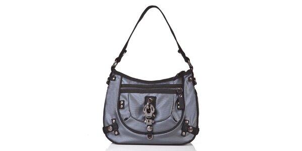 Dámska tmavo šedá kabelka s jedným uchom George Gina and Lucy