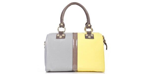 Dámska žlto-šedá kabelka George Gina and Lucy