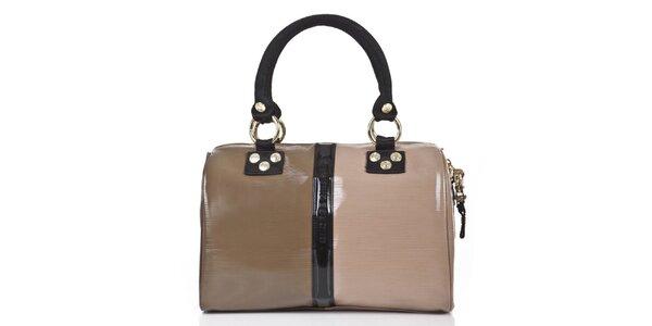 Dámska hnedo-béžová kabelka George Gina and Lucy
