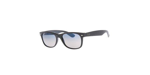 Čierne slnečné okuliare s polarizovanými sklami Ray-Ban