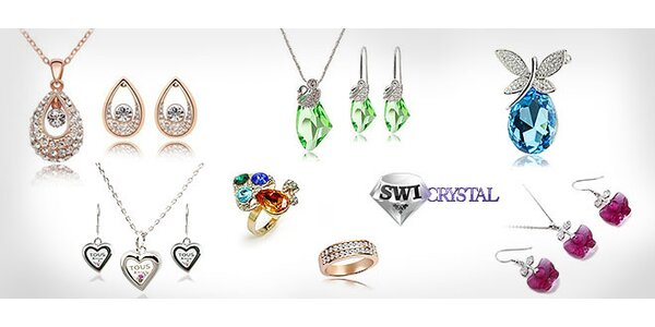 Totálny výpredaj šperkov od Swicrystal