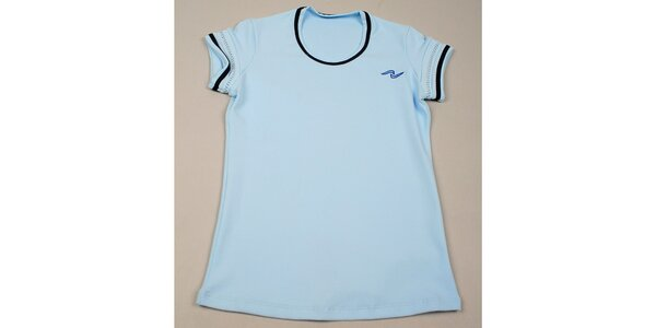 Dievčenské svetlo modré tričko Naffta