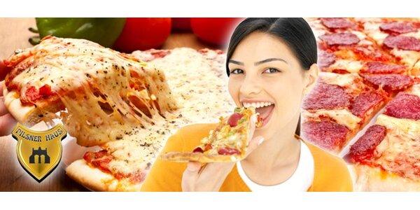 1,69 eur za akúkoľvek pravú taliansku pizzu so zľavou 71 %!