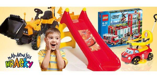 Kupón s 50 % zľavou na nákup hračiek