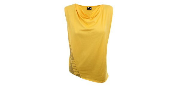 Dámsky žltý top Puma
