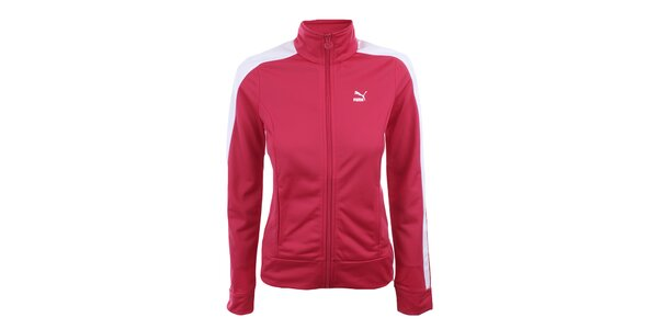 Dámska červenoružová športová bundička Puma