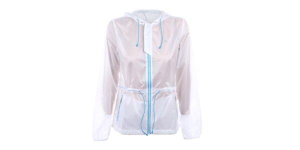 Dámska biela transparentná bunda Puma