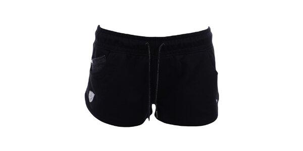 Dámske čierne šortky Puma