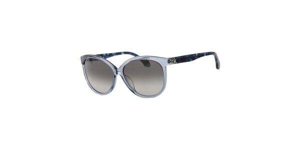 Dámske modré slnečné okuliare Calvin Klein
