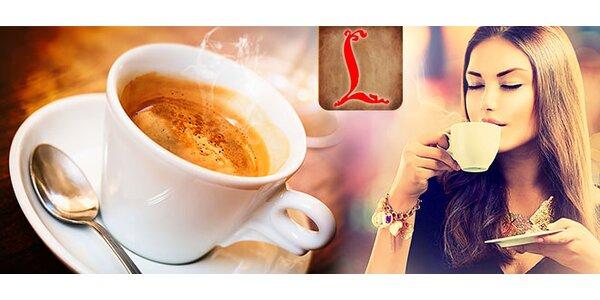 Kvalitné espresso alebo fresh v centre pre dvoch