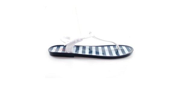 Dámske pruhované sandálky So Real