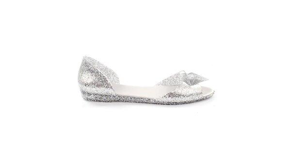 Dámske trblietavé sandálky s ozdobou So Real