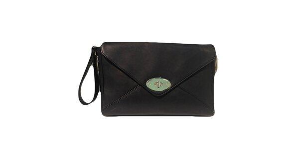 Dámska čierna listová kabelka The Style London