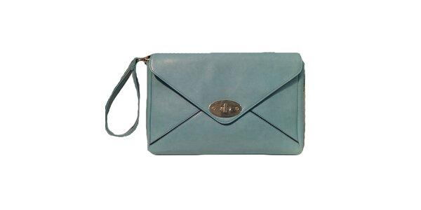 Dámska modrá listová kabelka The Style London