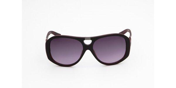 Dámske hnedo-červené slnečné okuliare Miss Sixty