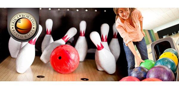 Hodina bowlingu v reštaurácii Bowling Erika.