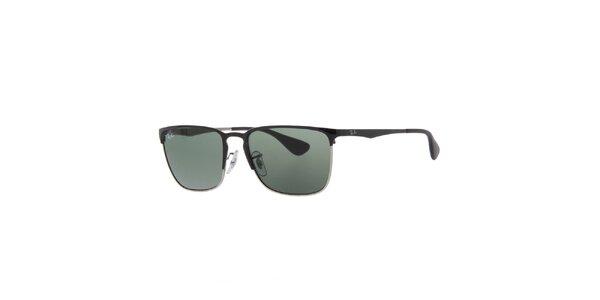 Pánske slnečné okuliare s tmavo šedými sklami Ray-Ban