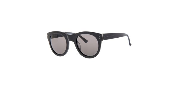 Dámske čierne retro slnečné okuliare Michael Kors