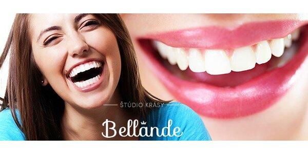 Profesionálne bielenie zubov ! V štúdiu krásy Bellande