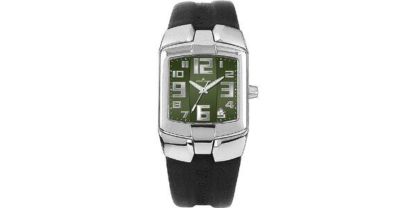 Pánske hodinky so zeleným ciferníkom Jacques Lemans
