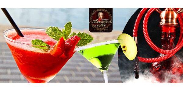 Letné osvieženie s miešaným drinkom