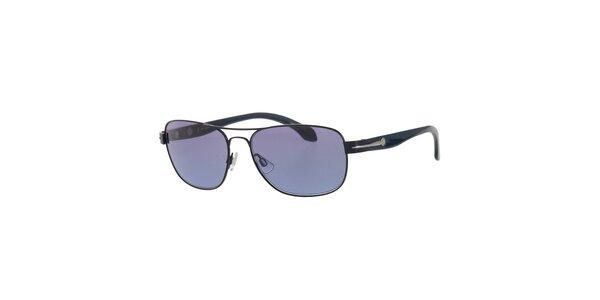 Pánske tmavo modré slnečné okuliare Calvin Klein