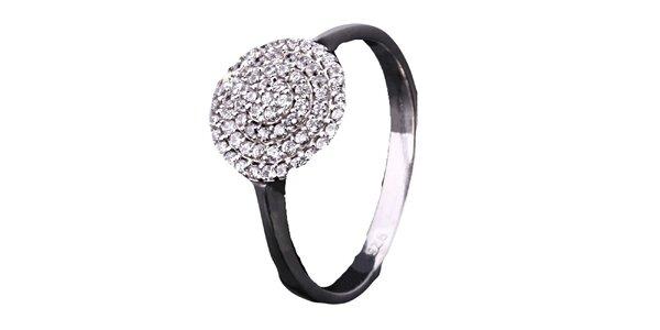 Dámsky zirkónový prsteň Afrodite