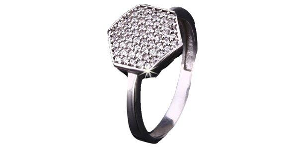 Dámsky prsteň so zirkónmi Afrodite