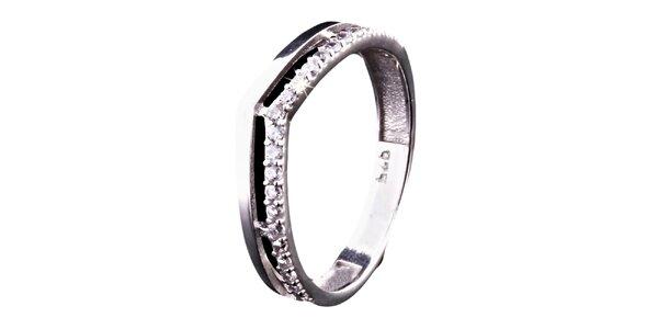Dámsky strieborný prsteň Afrodite