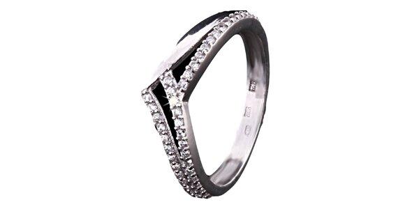 Dámsky elegantný prsteň Afrodite