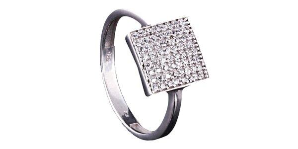 Dámsky hranatý prsteň Afrodite