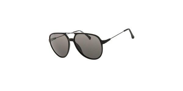 Pánske čierne slnečné okuliare Calvin Klein