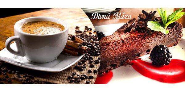 Mexická káva a dezert pre 2 v centre mesta