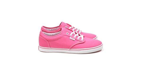Dámske ružové tenisky Vans
