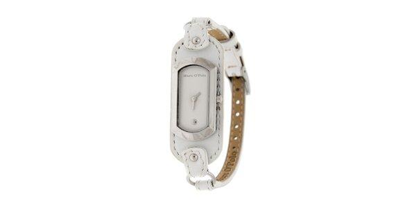 Dámske hodinky Marc O´Polo s bielym koženým remienkom