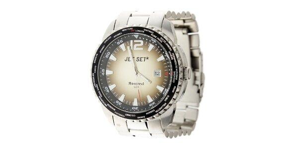 Pánske oceľové hodinky Jet Set