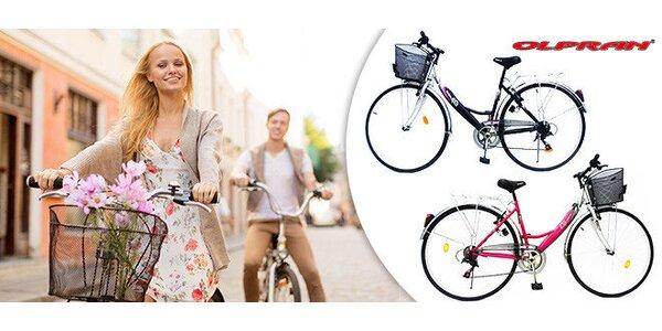 Dámsky city/trekový bicykle Olpran Mercury Lux