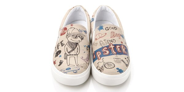 Pánske hipster loafers Elite Goby
