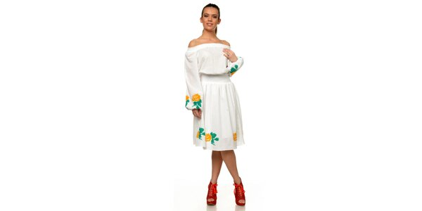 Dámske biele šaty Joseph Alessander
