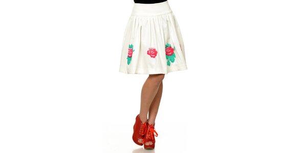 Dámska sukňa s červenými ružami Joseph Alessander