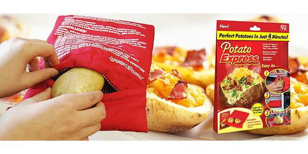Potato Express - varenie v mikrovlnke